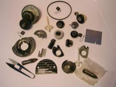 Spare parts for industrial and domestic sewing