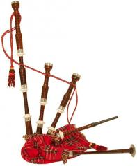 Bagpipe rose wood