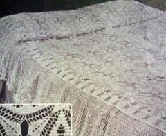 2 Side Border crochet bed cover