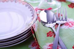 Red Diamond Dinner Set