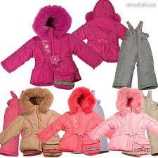 Winter jackets for children