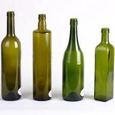 Glass bottles for vine