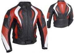 Leather MotoBike Men Jacket