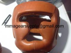 Brown Genuine leather with Embossing Stamp Head