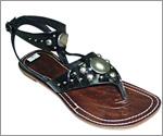Ladies` Leather Sandals