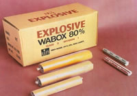 Nitroglycerine Based Dynamite, Wabox