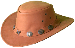 NUBUCK LEATHER HAT