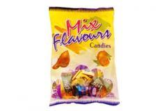 Mix flavours candies
