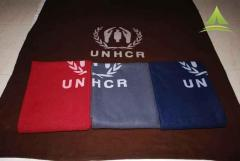 UNHCR/ICRC/IFRC medium thermal synthetic blanket