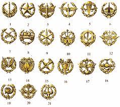 Special emblems