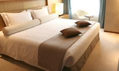 Hotel's bed linen