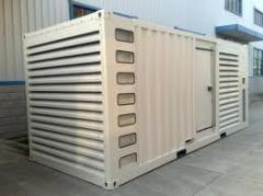 Diesel generator in containers