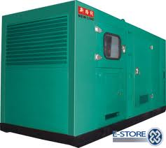 Soundproof standby diesel generators