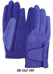 Blue Golf Gloves