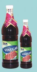 Red grapes vinegar