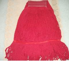 Red Kentucky mop