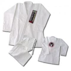 Brazilian jiu jitsu uniforms gold weave