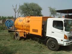 Sewer jetting units