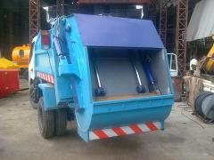 Truck mounted compactors
