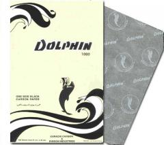 Dolphin one side black carbon paper