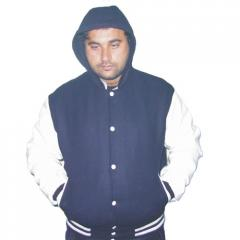Hooded Versity Jackets