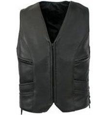 Leather vest coats