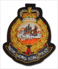 Hong Kong Police Badge