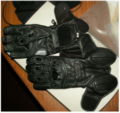 Cowhide analine gloves