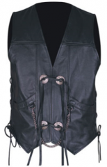 Leather Vest SI-LV-1001
