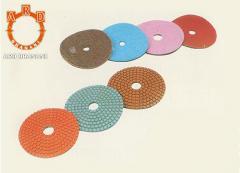 Diamond flexible discs