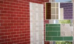 Facing tiles