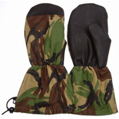 Heavy military gloves