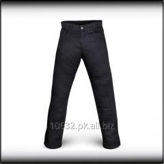 Men Black Motorcycle Kevlar Jeans