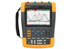 Color scopeMeter, 100 MHz, 2 channels plus