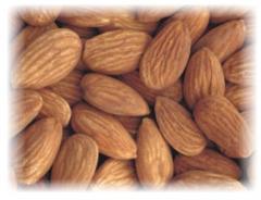 Dry fruits - almonds kernal