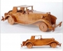 Crafted wood automobiles