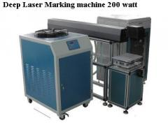 Deep Laser Marking and engraving machine 100 watt