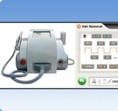 Hair removal and skin treatment machine