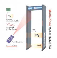 Multi-zone metal detector