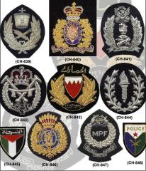 Police Bullion Badges