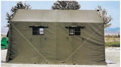 Green Military tent