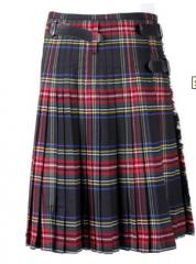 Scottish Kilts, Black Stewart Tartan