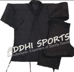 Black heavy weight uniform