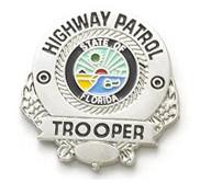 """""""Highway Patrol"""" Badge."""