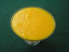 Fruits pulp, mango , guava , Orange, Peach,