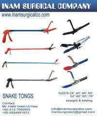 Snake tongs