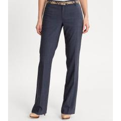 Martin fit textured navy trouser