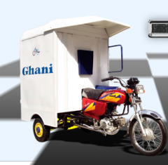 Motorcycle with cabin
