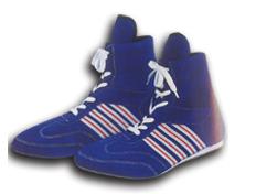 Half-long boxing shoes