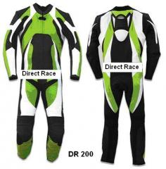 Motorbike Leather Suit DR 200